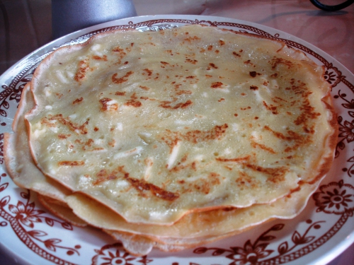 Cheese pancakes (sour-sweet)
