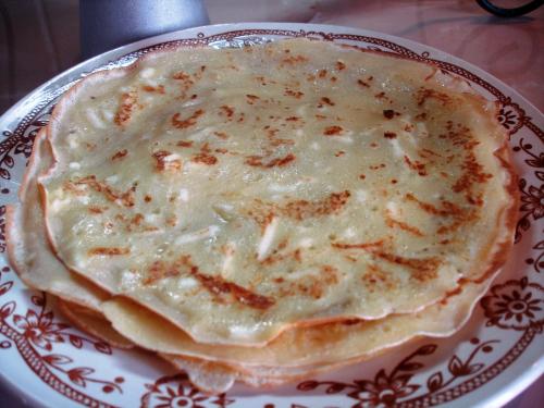 Млинці сирні (солено-солодкі)