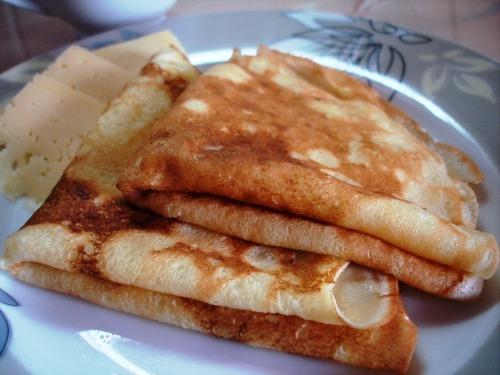 Блины сырные (солено-сладкие)