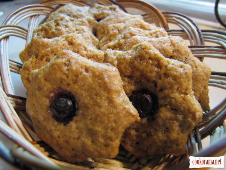 Ореховое печенье на грейпфрутовом соку