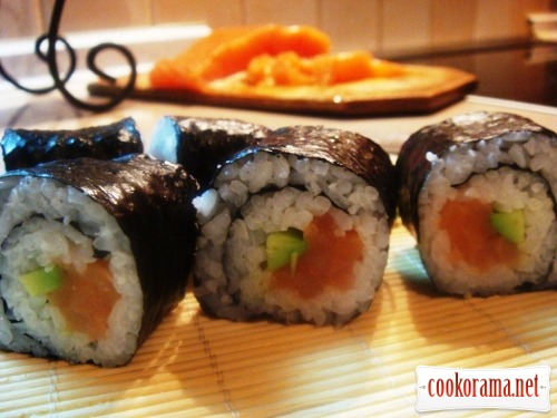 Rolls (rolled sushi)