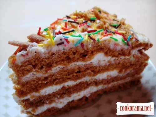 "Honeycake ""Funny cake"""