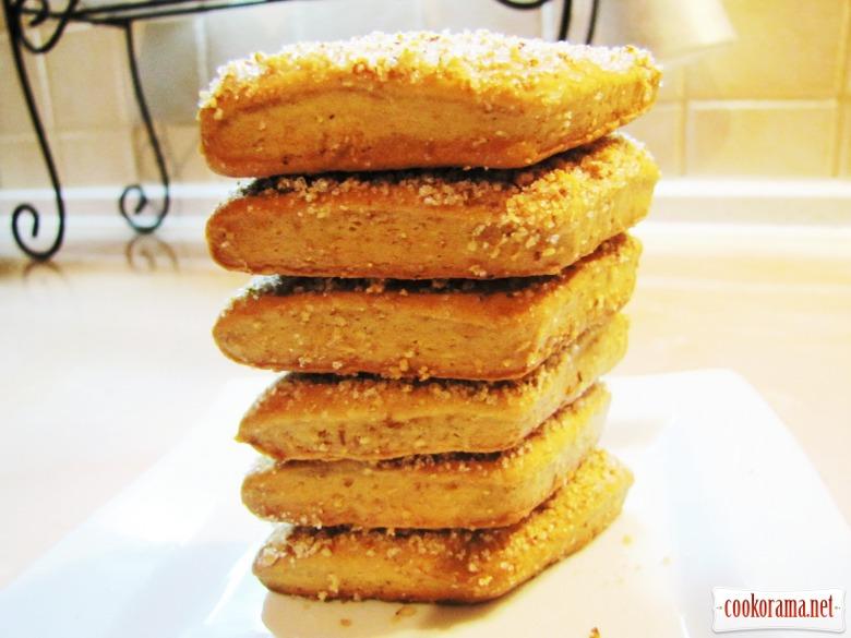 Горіхове печиво на яблучному соці