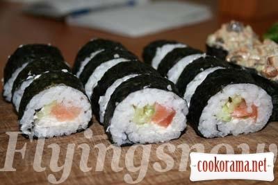 Sushi Time: Philadelphia Roll