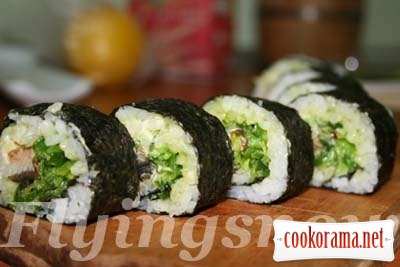 Sushi Time: Unagi Roll