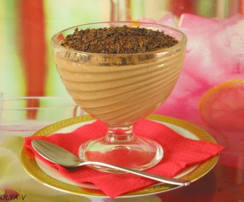 Творожно-шоколадное суфле с апельсиновым ароматом