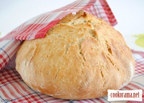 Хлеб из кастрюли