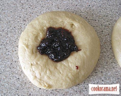 Mouna fancy bread with filling