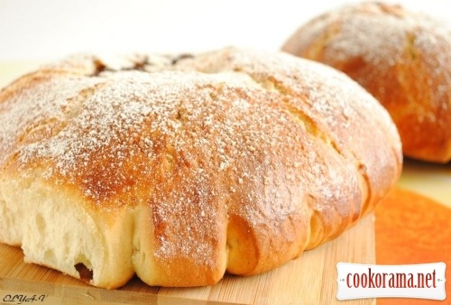 «Моуна» сдобный хлеб с начинкой