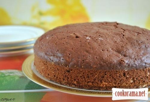 Шоколадно-буряковий пиріг