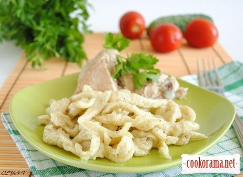 Shpettsle - German homemade noodles