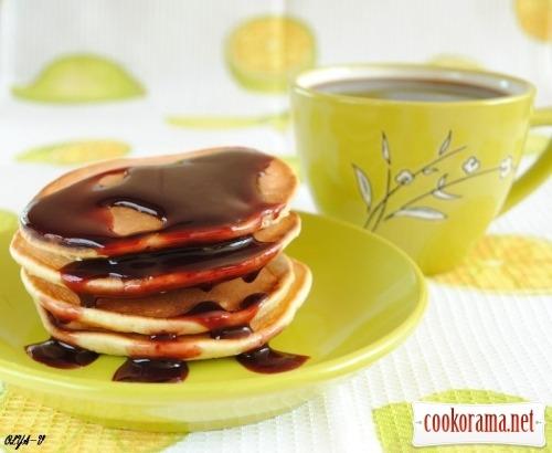 Мини-блинчики к завтраку