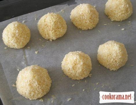 Cookies coconut