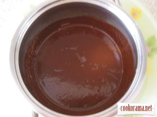 Мусс из шоколада и воды