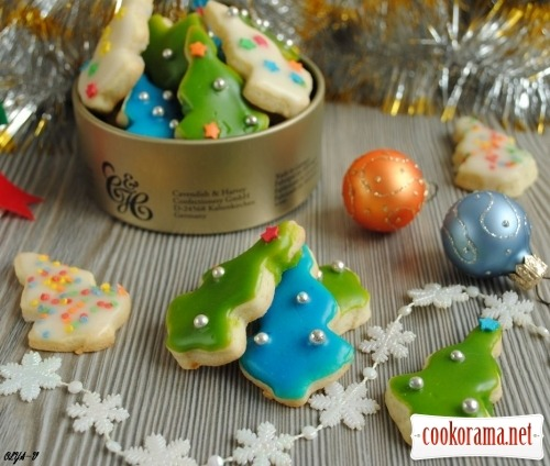 Cookies «New Year trees»