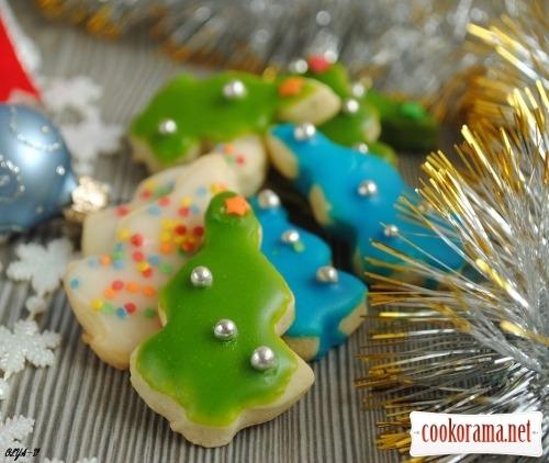 Печиво «Новорічні ялинки»