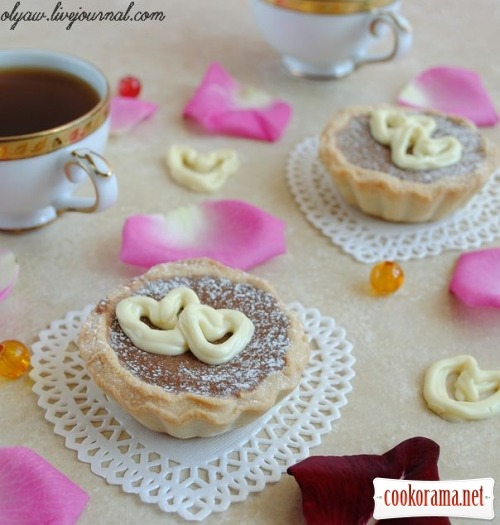 Шоколадные тарталетки «Для влюблённых»