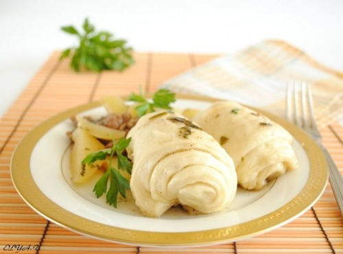 """Kvikelta"" or strudels in German style"