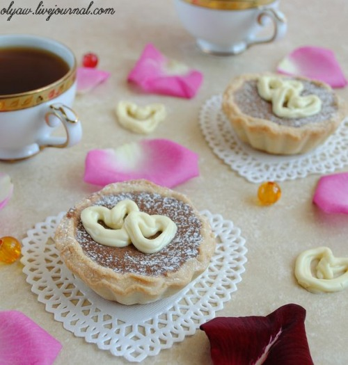 """Шоколадні тарталетки """"Для закоханих"""""""