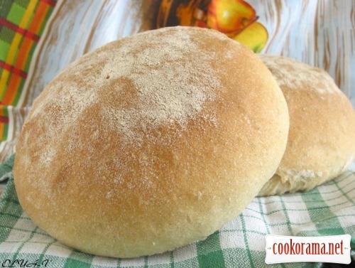 """Хліб на манній крупі """"колобок"""""""