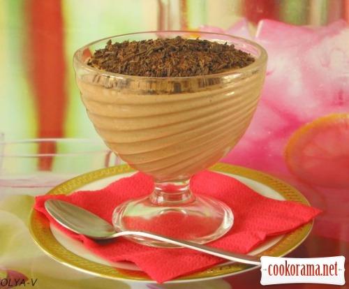 Сирно-шоколадне суфле з апельсиновим ароматом