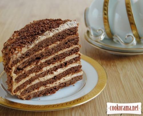 """Шоколадно-медовый торт """"Сказка"""""""