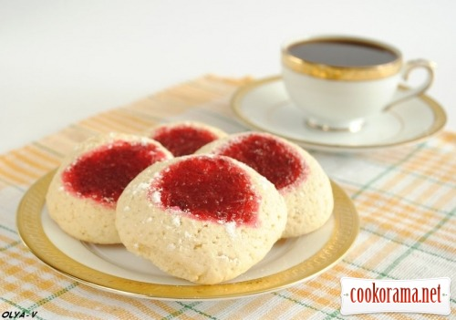 Cookies with cranberries