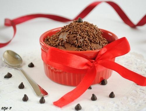 Мус із шоколаду та води
