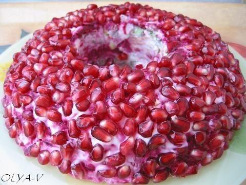 """Salad """"The Garnet Bracelet"""""""