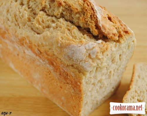 Хліб бездріжджовий на кефірі