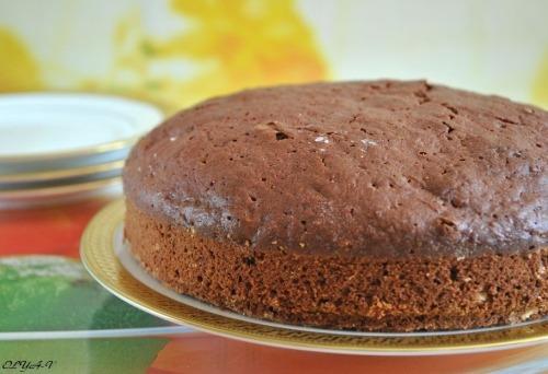 Chocolate-beetroot cake