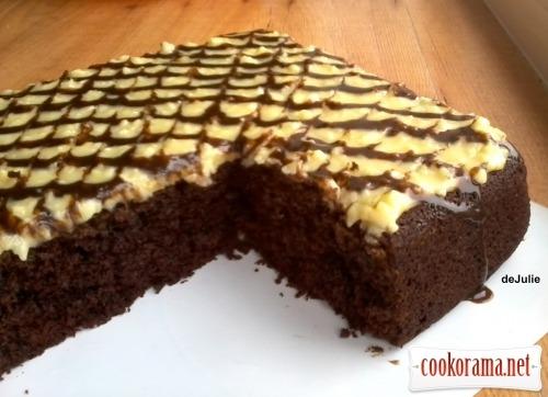 Бісквіт «шоколад на окропі»