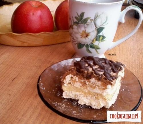 Грильяжний торт (як у Рошен)
