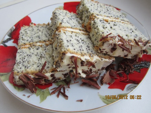 Маковий торт