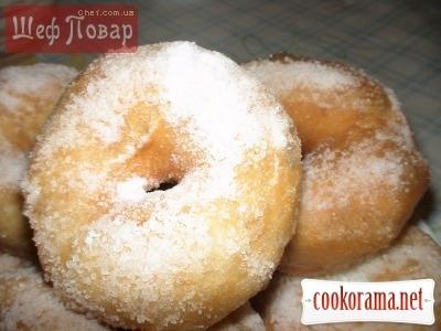 Воздушные пончики «Сахарное облочко»