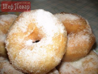 """Воздушные пончики """"Сахарное облочко"""""""