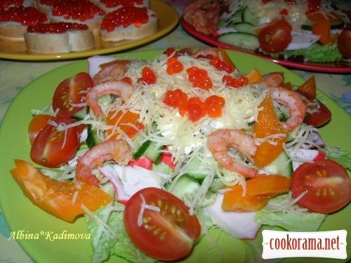 Salad «Saint-Tropez»