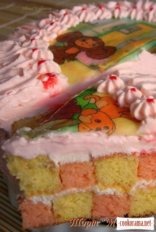 Торт «Мультик»