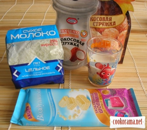 Торт Снежная фантазия