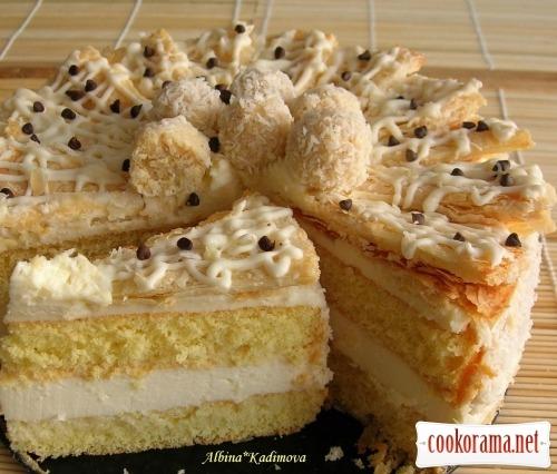 Торт «Снігова фантазія»