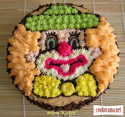 Торт «Клоун»
