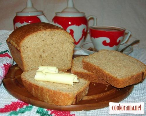 Хліб з житнього борошна