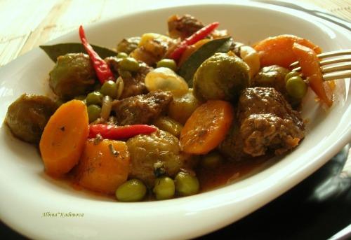 Рагу с летними овощами