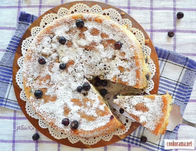 Пирог с иргой