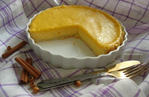 Лимонно-гарбузовий тарт з рікотти