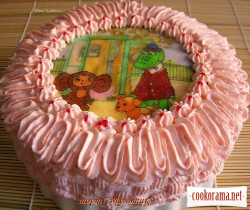 "Торт ""Мультик"""