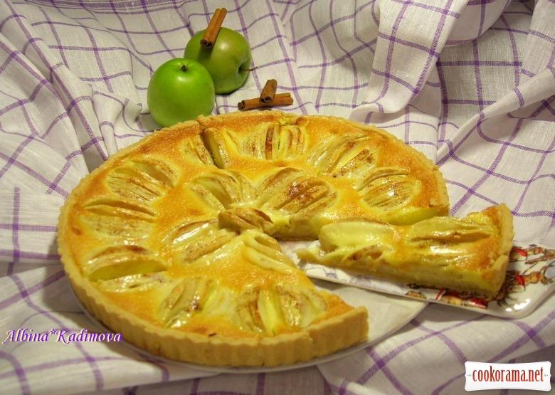 Ельзаський яблучний пиріг