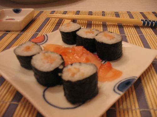 Суши-роллы (Хосьомаки)