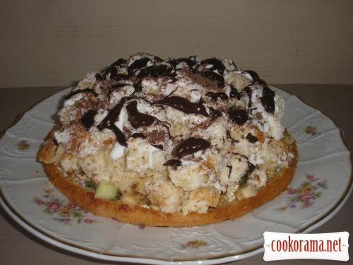Торт «Кучерявий пінчер» (мій варіант)