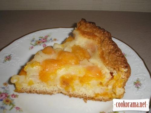 Абрикосовый пирог (мой вариант)